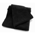Black Microfibre All Purpose Wheel Detailing Towel