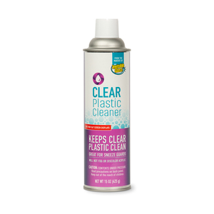 Invisible Glass Clear Plastic Cleaner - Aerosol