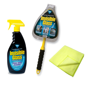 Invisible Glass Reach & Clean Kit with 2 Microfibre Cloths