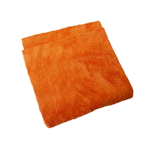 Mammoth Microfibre - Orange Canary - Extra Soft Buffing Towel