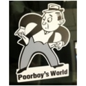 Poorboy's World Sticker