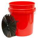 Grit Guard Wash Bucket System (Gamma Seal Lid) - 4 Colours